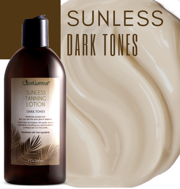 Sunless Tanning Lotion - Dark Tones