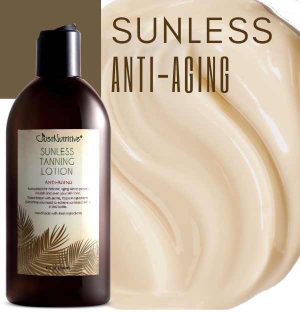 Sunless Tanning Lotion - Anti-Aging